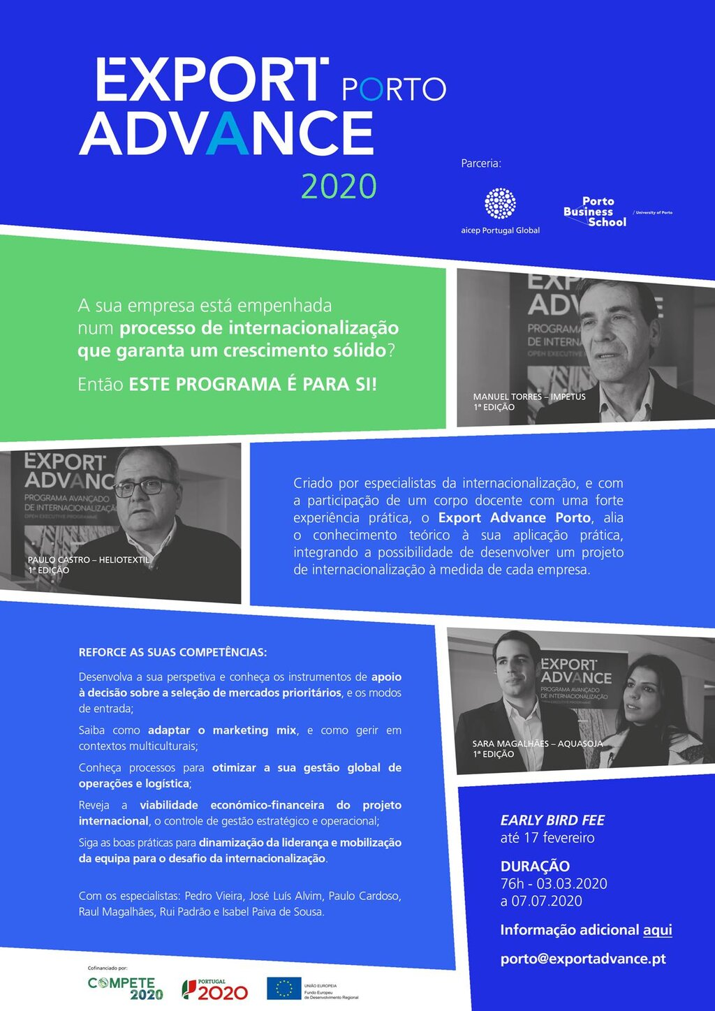 Export Advance Porto 2020 - Newsletter Fev.2020